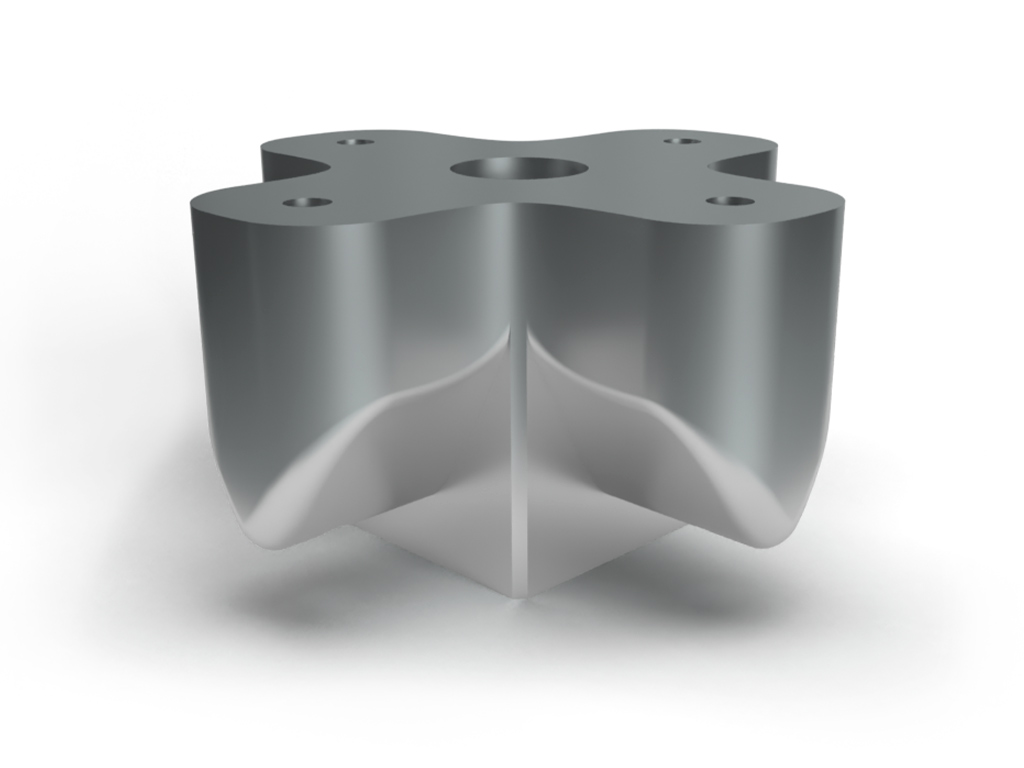 Preziss PRZ3d 3D printed 316 L stainless steel special fixture