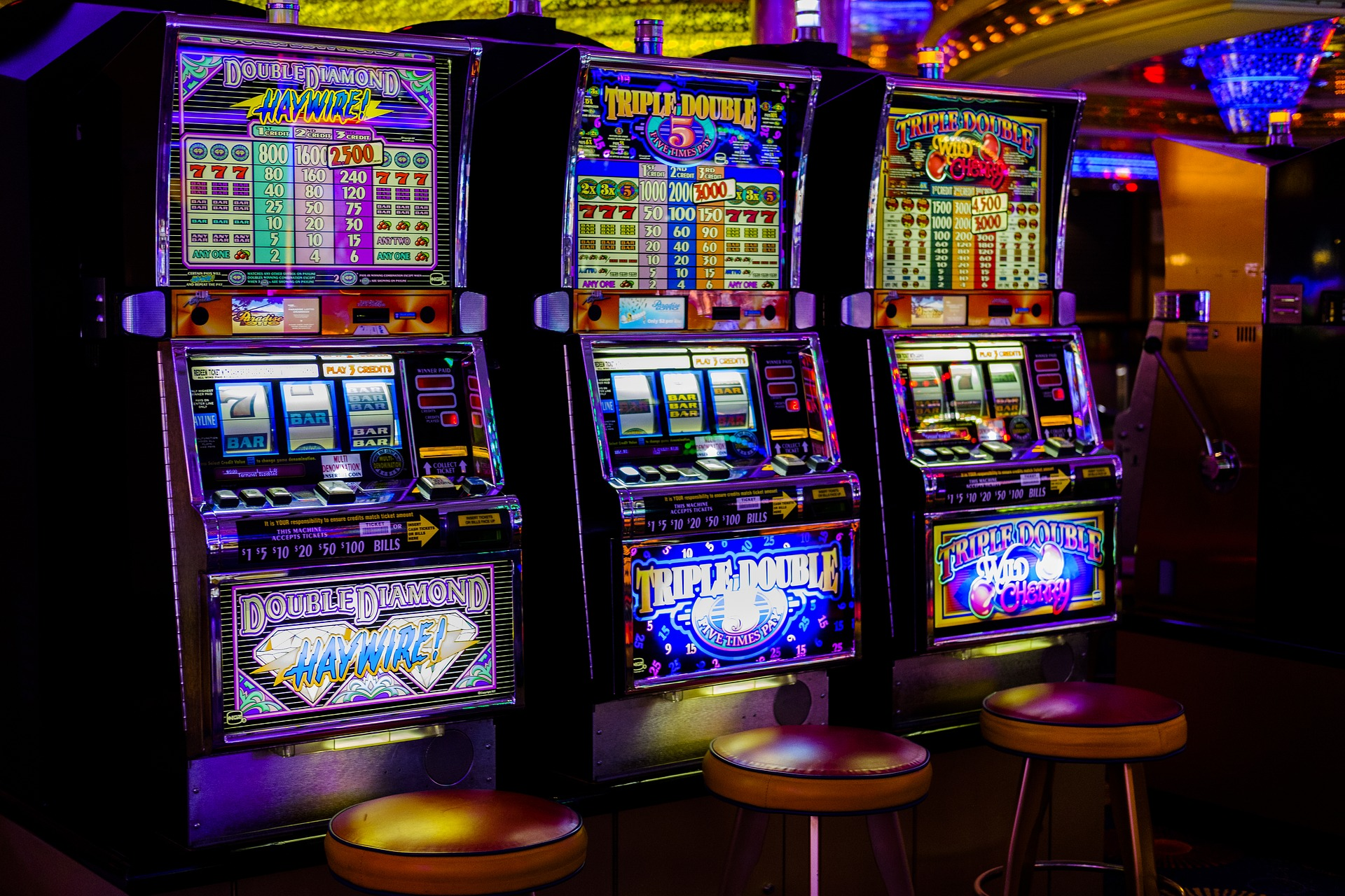 Pest prevention considers food crumbs and spilt drinks around slot machines in sporting clubs which may attract pests