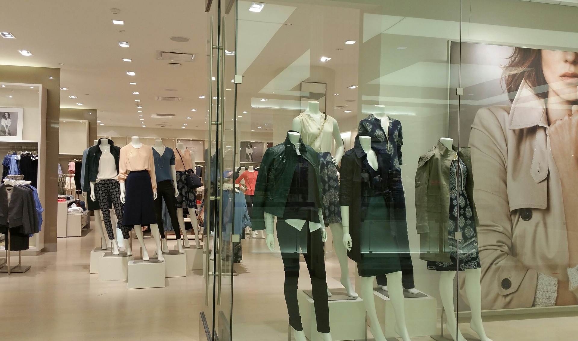 Commercial pest management includes all types of retail stores including clothing department stores