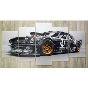 5 canvas car