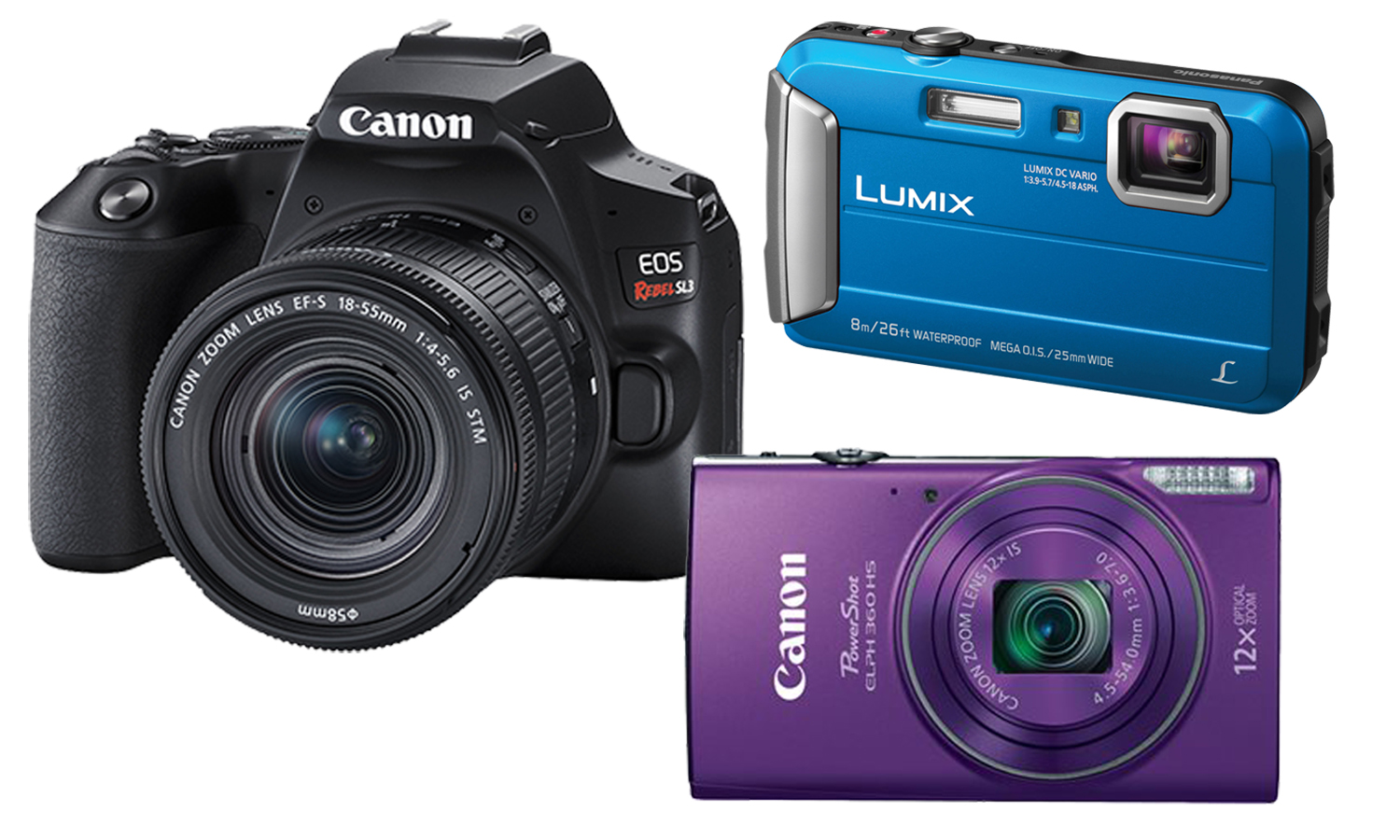 Shop Point & Shoot Cameras