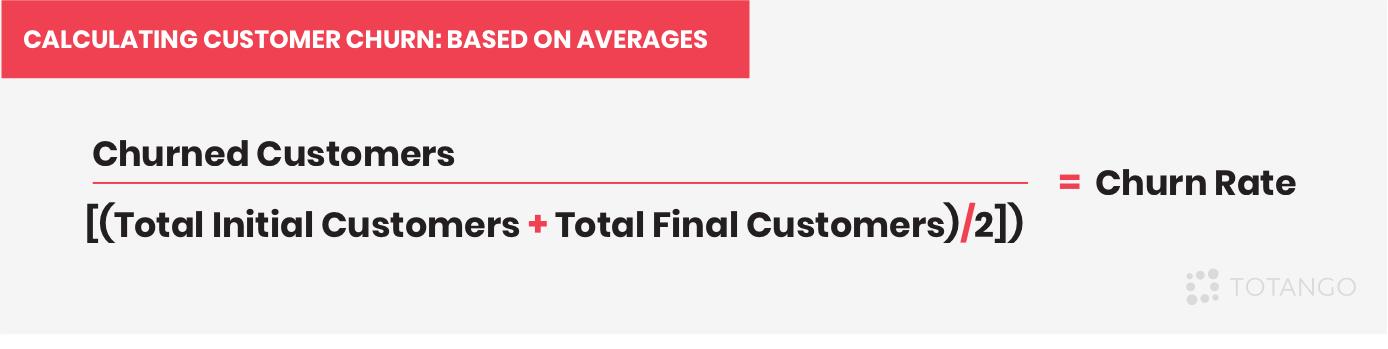 Calculating Customer Churn Based on Averages   Totango