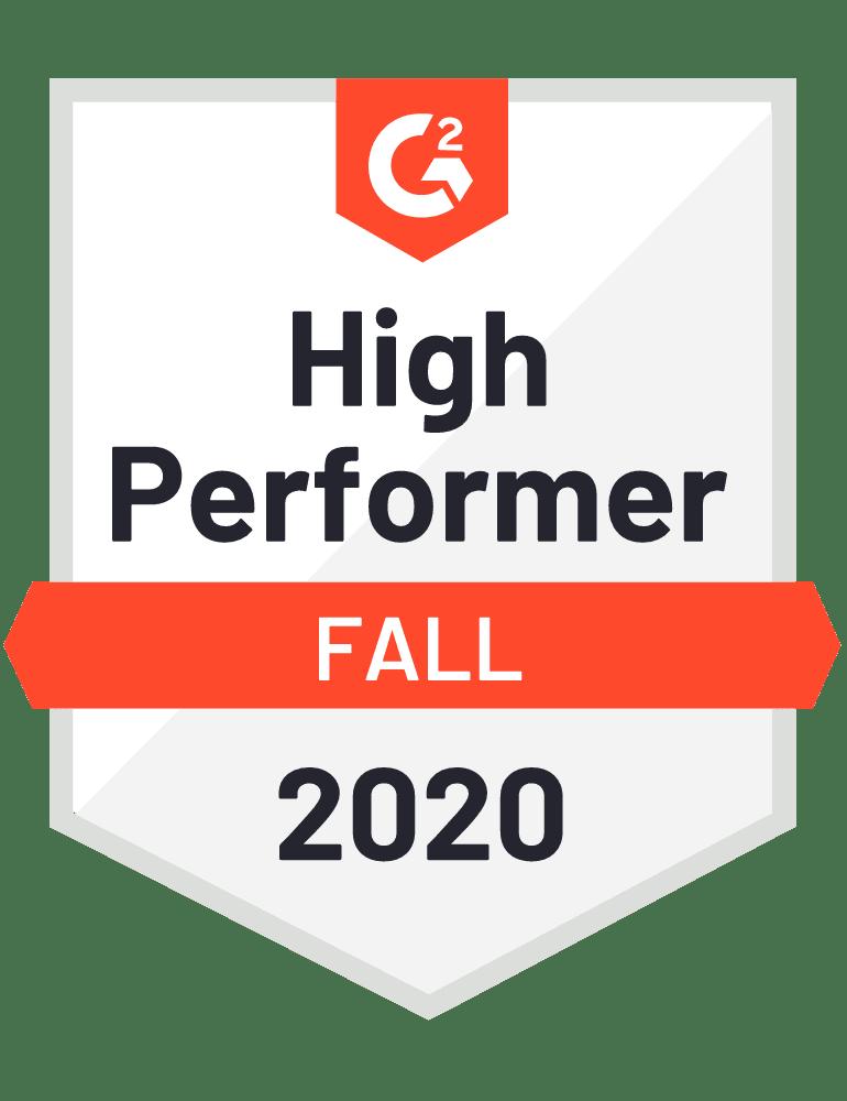 G2 High Performer Badge