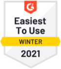 G2 Crowd Easiest to Use 2021
