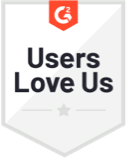 G2 Crowd Users Love Us Badge