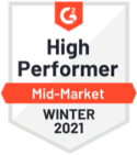 High Performer G2 Crowd