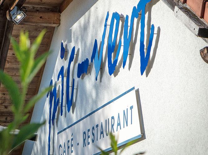 Restaurant Le Pic Vert - Grandvillard - Enseigne