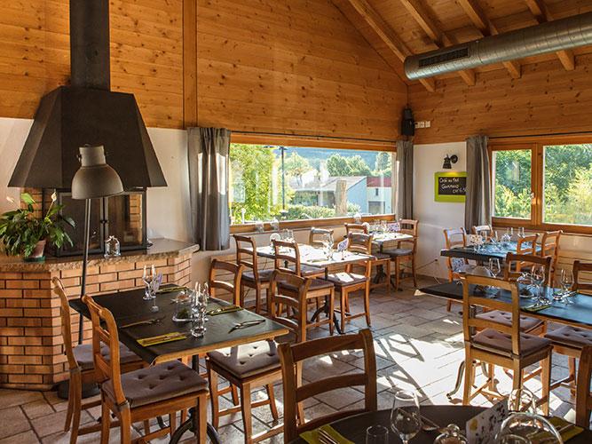 Restaurant Le Pic Vert - Grandvillard - Intérieur