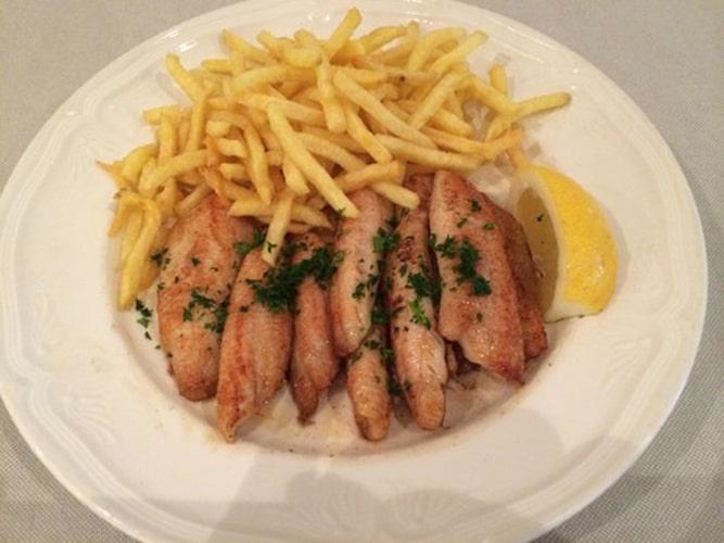 Restaurant Le Pic Vert - Filets de perche meunière