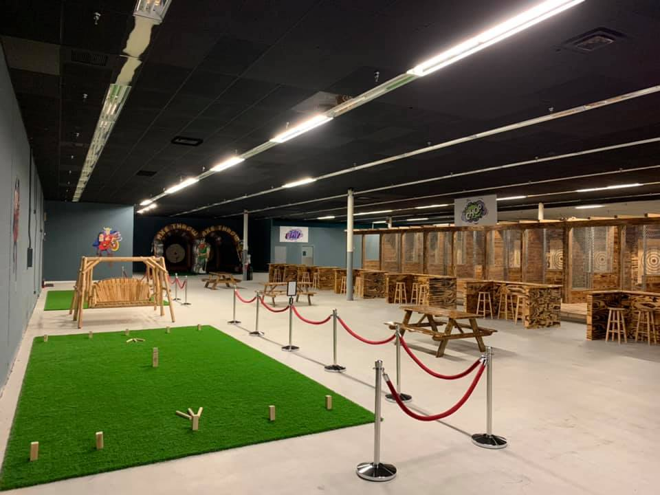 Photo of Just Amuse me Kubb Court and Ax Throwing booths