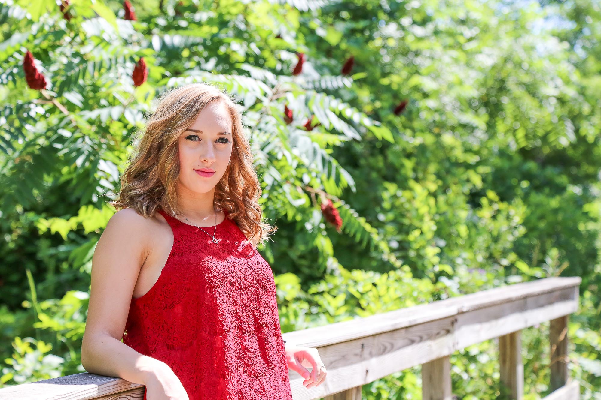 Natalie Stockel's senior photography session located in Walker, Michigan.