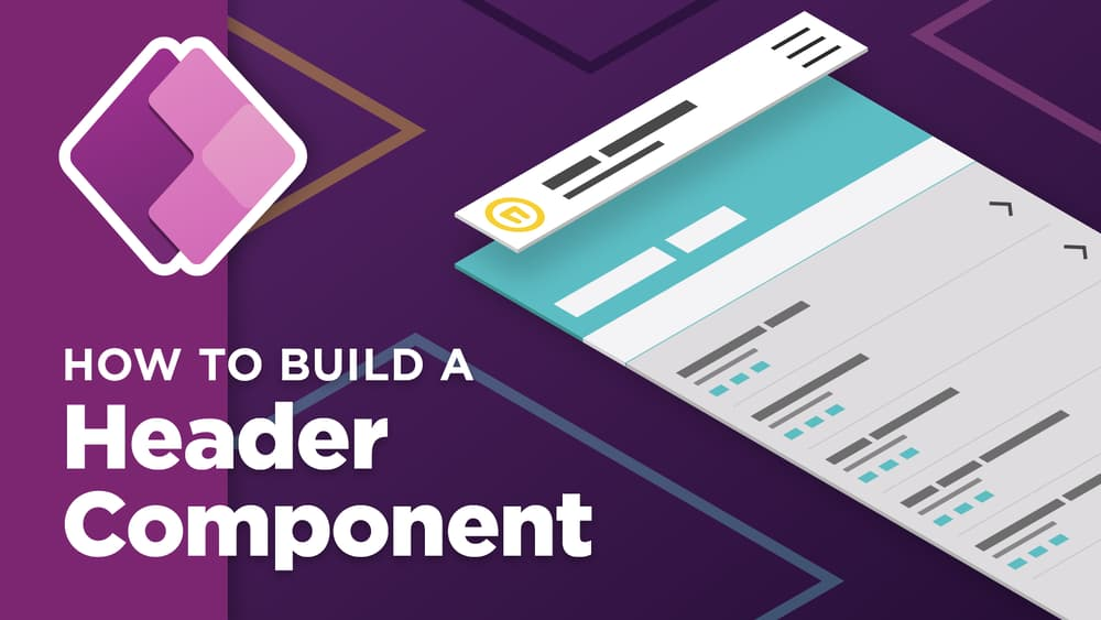 How To Build a Header Component For Your PowerApp