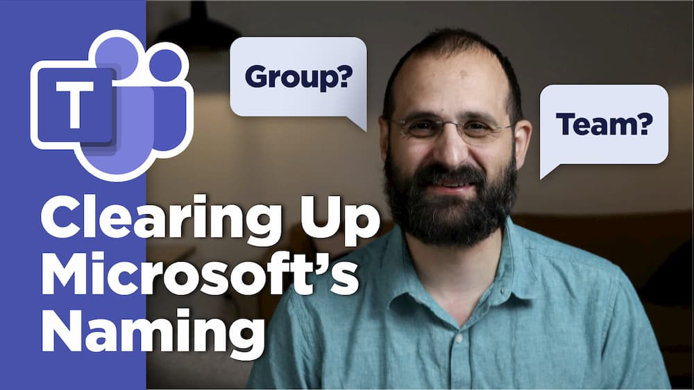 Clearing Up Microsoft's Naming