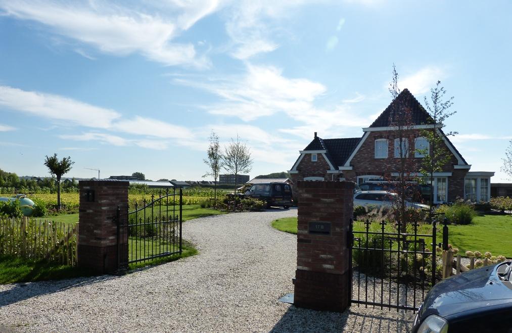 Een grote landelijke tuin in Noordwijkerhout