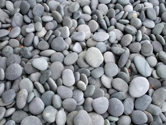 Beach pebbles