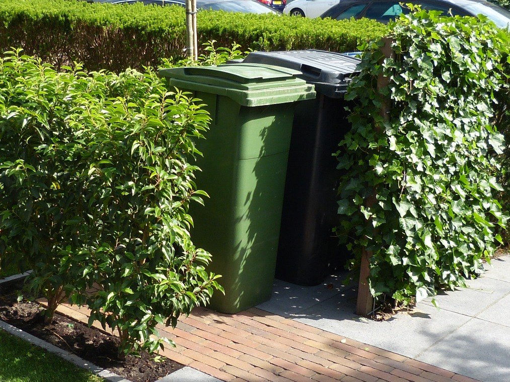 Rolcontainer ombouw