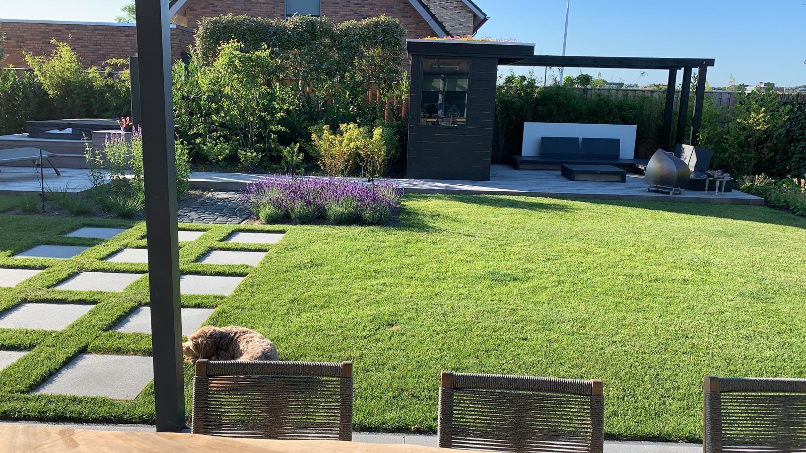 Een wellness tuin in Heerhugowaard