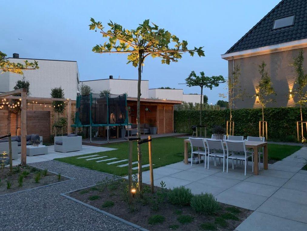 Een ware loungetuin voor lange avonden