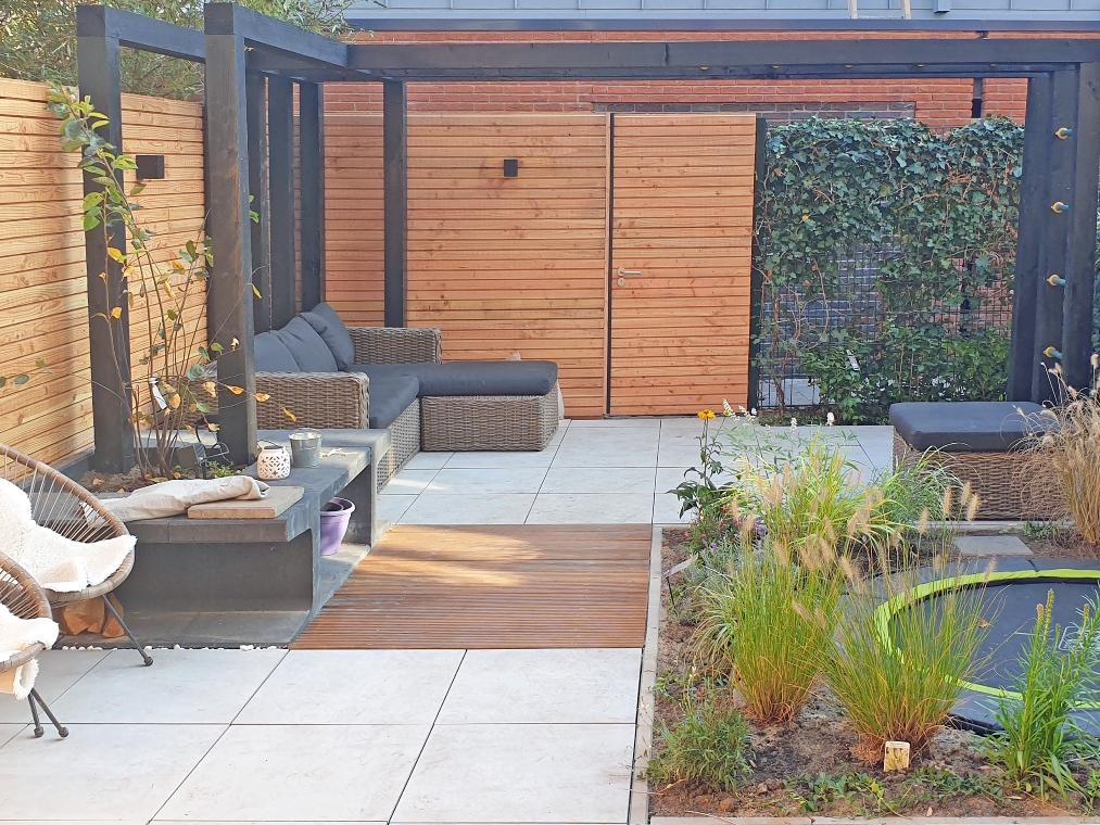 Warme strakke tuin