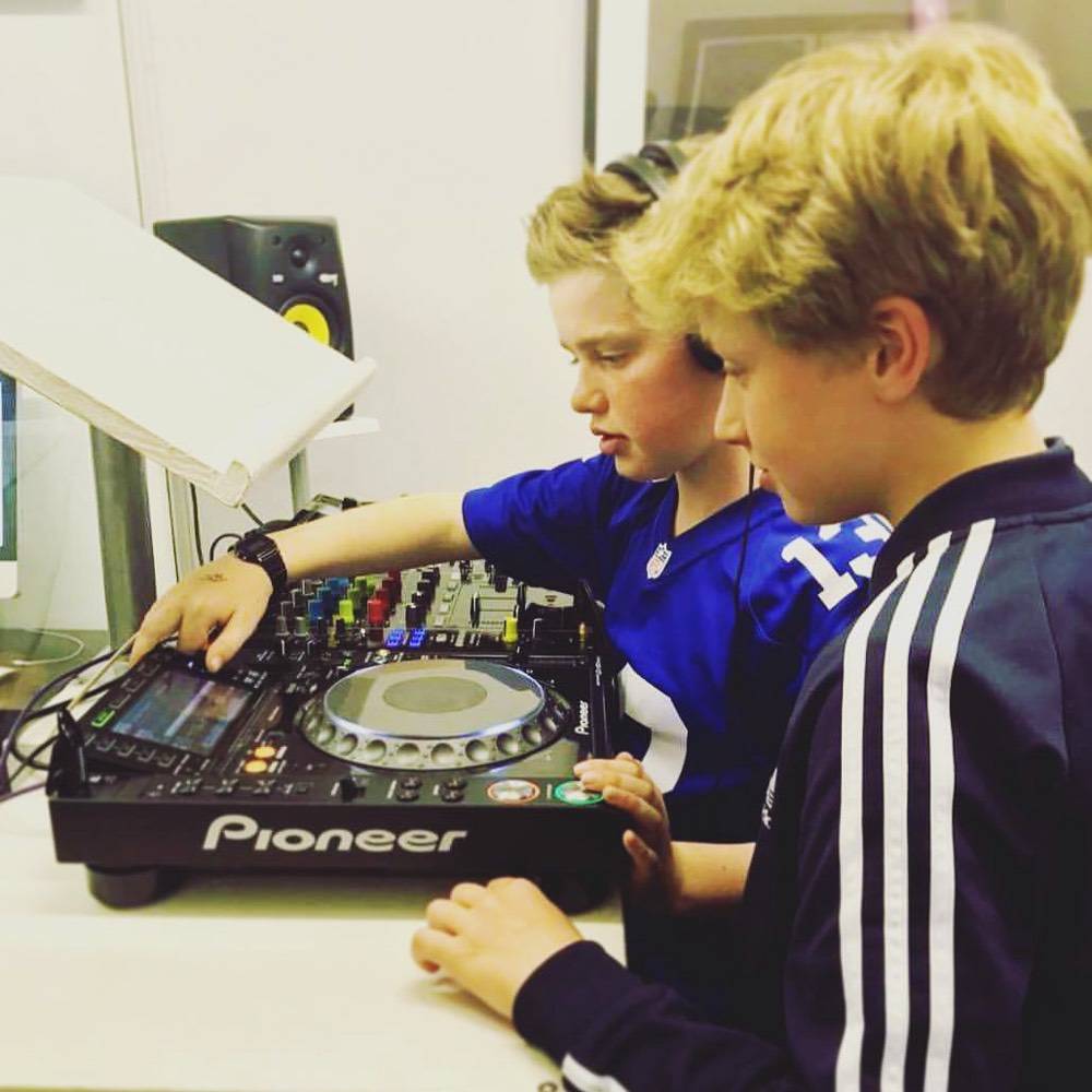 Teaching kids how to DJ