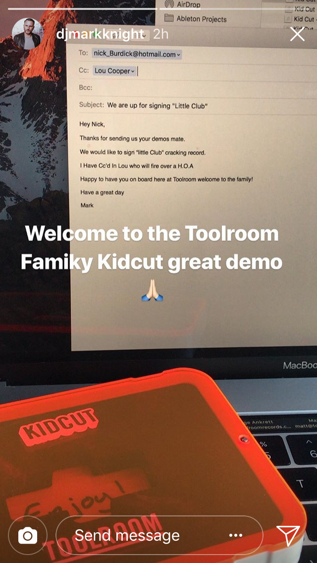 Toolroom Academy Kid Cut London Sound Demo