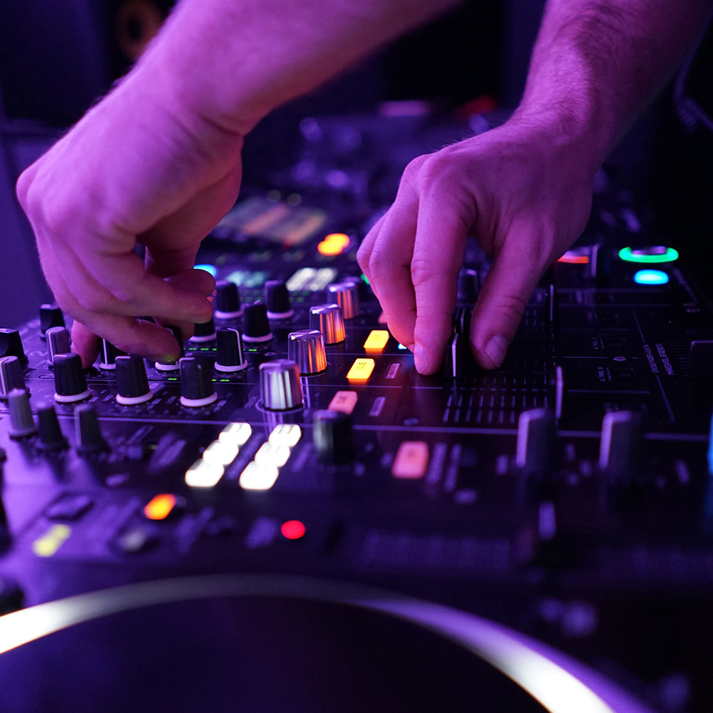 DJ Studio Hire. Practice on a range of specialist equipment, record and stream!