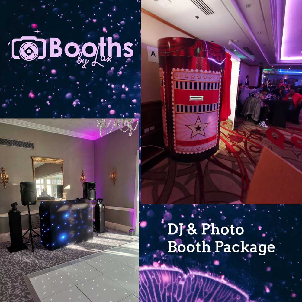 Booths By Lux - The best mobile DJ & Photo Booth Company in London