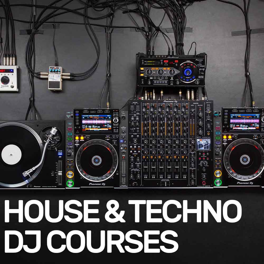 House and Techno DJ Lessons