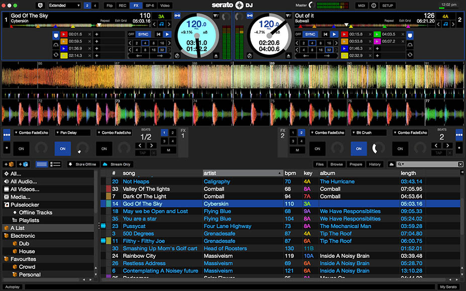 How to use Serato to record