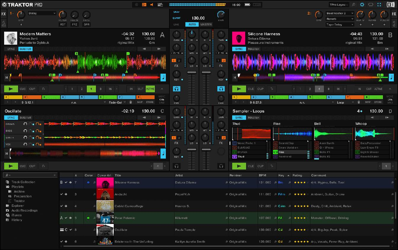 How to record a mix on traktor