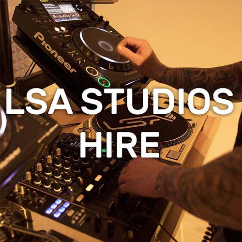 LSA Studios Hire