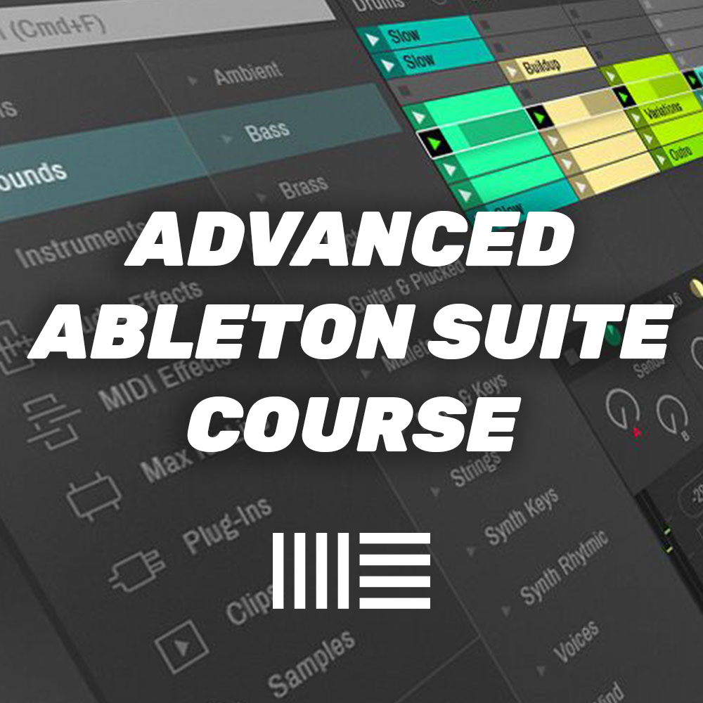 Ableton Suite Course at London Sound Academy