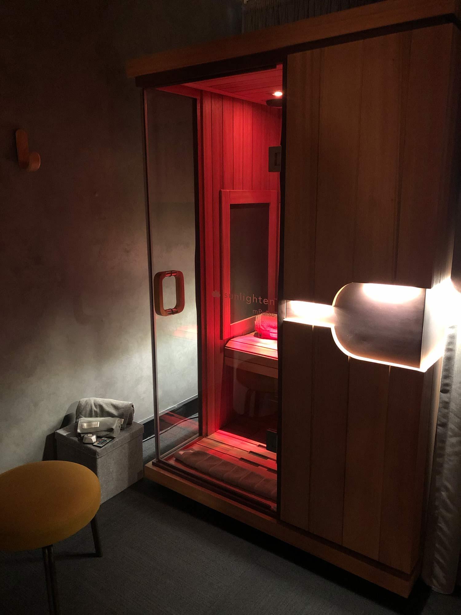 image of full spectrum sauna 1-2 person