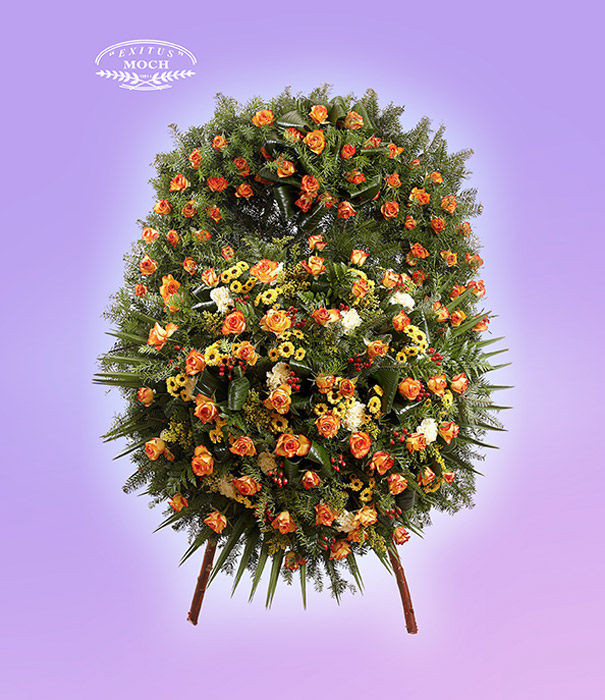 Wieniec z kwiatów mieszanych 01