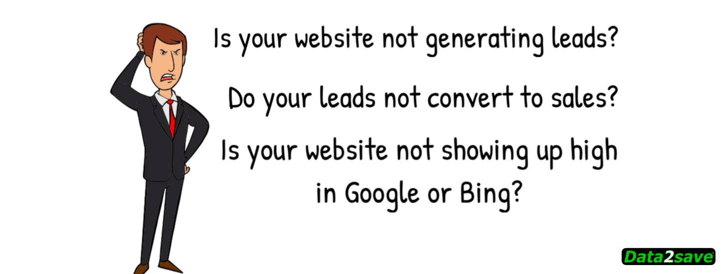 Is your website not generating leads?