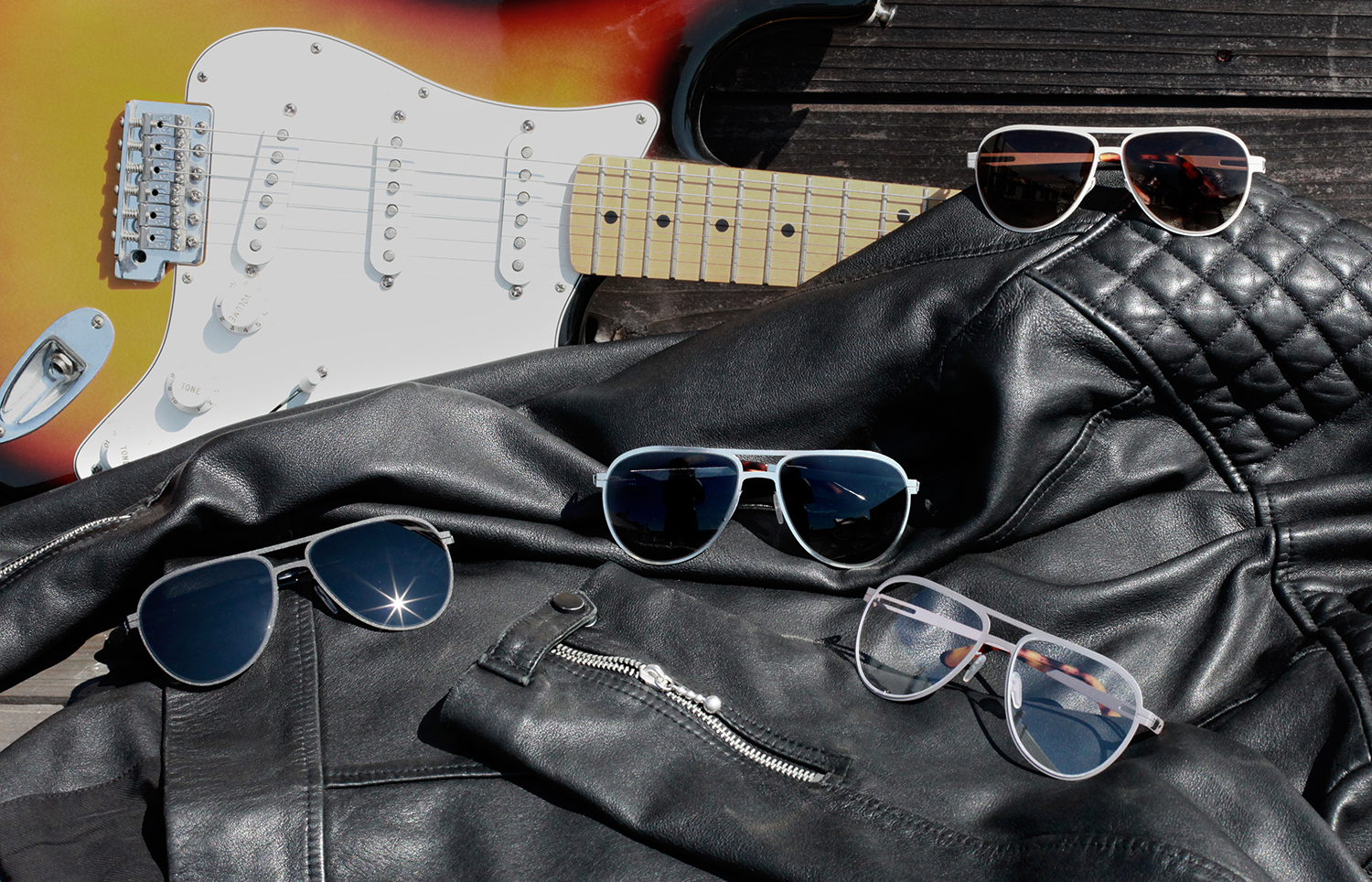 Range of custom-fit aviator sunglasses and eyeglasses from Topology eyewear.