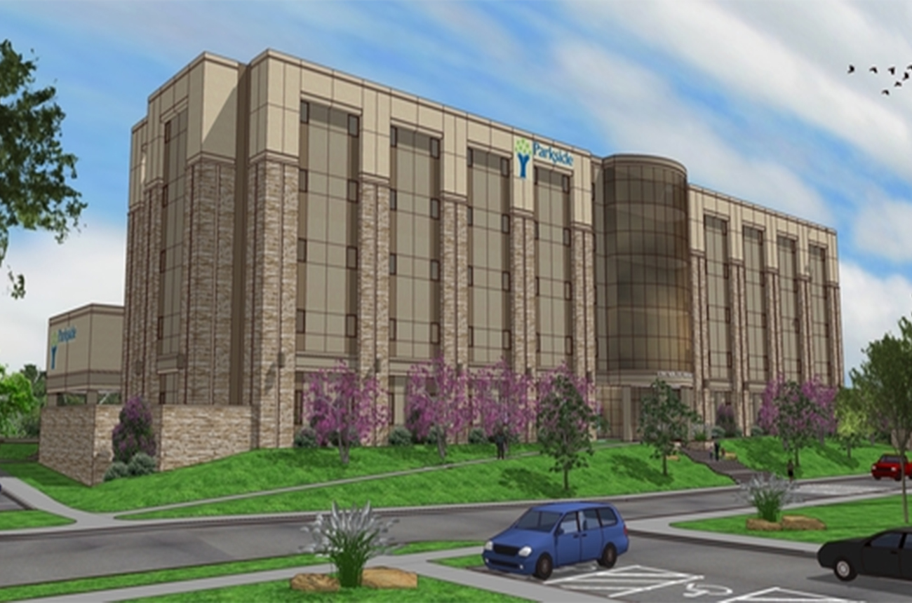 Rendering of the new Parkside Psychiatric Hospital