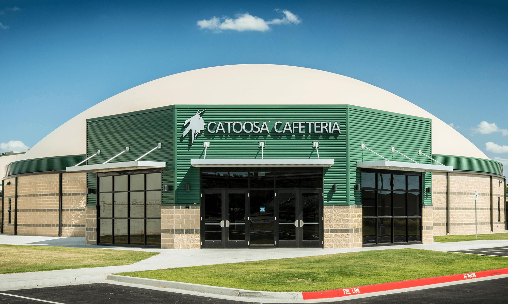 Photo of Catoosa Cafeteria Dome Exterior