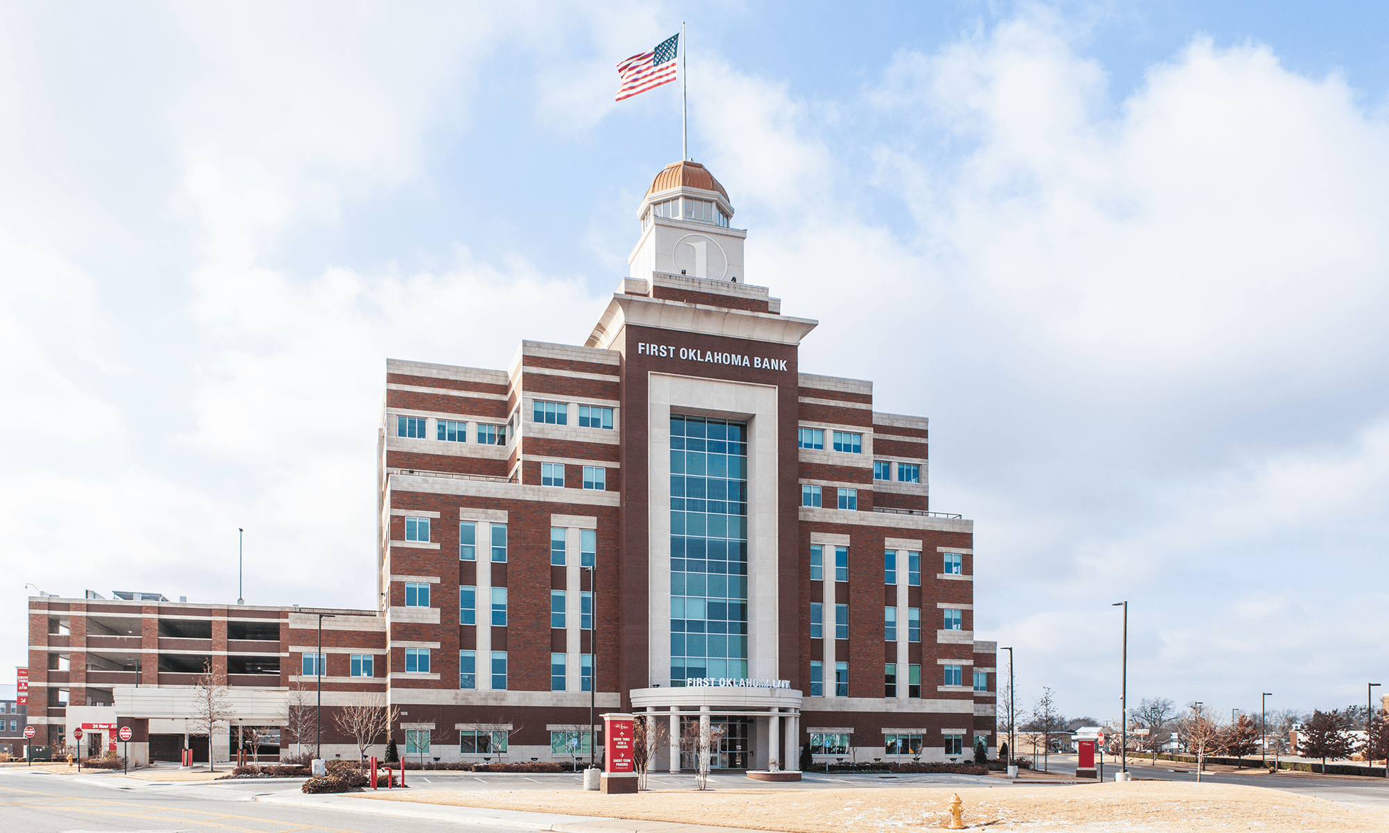 Photo of First Oklahoma Bank in Jenks by Arrow Construction Resources