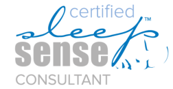 TOPEKA INFANT AND TODDLER SLEEP EXPERT, AMY HOUGH CERTIFIED SLEEP SENSE CONSULTANT WITH LOGO