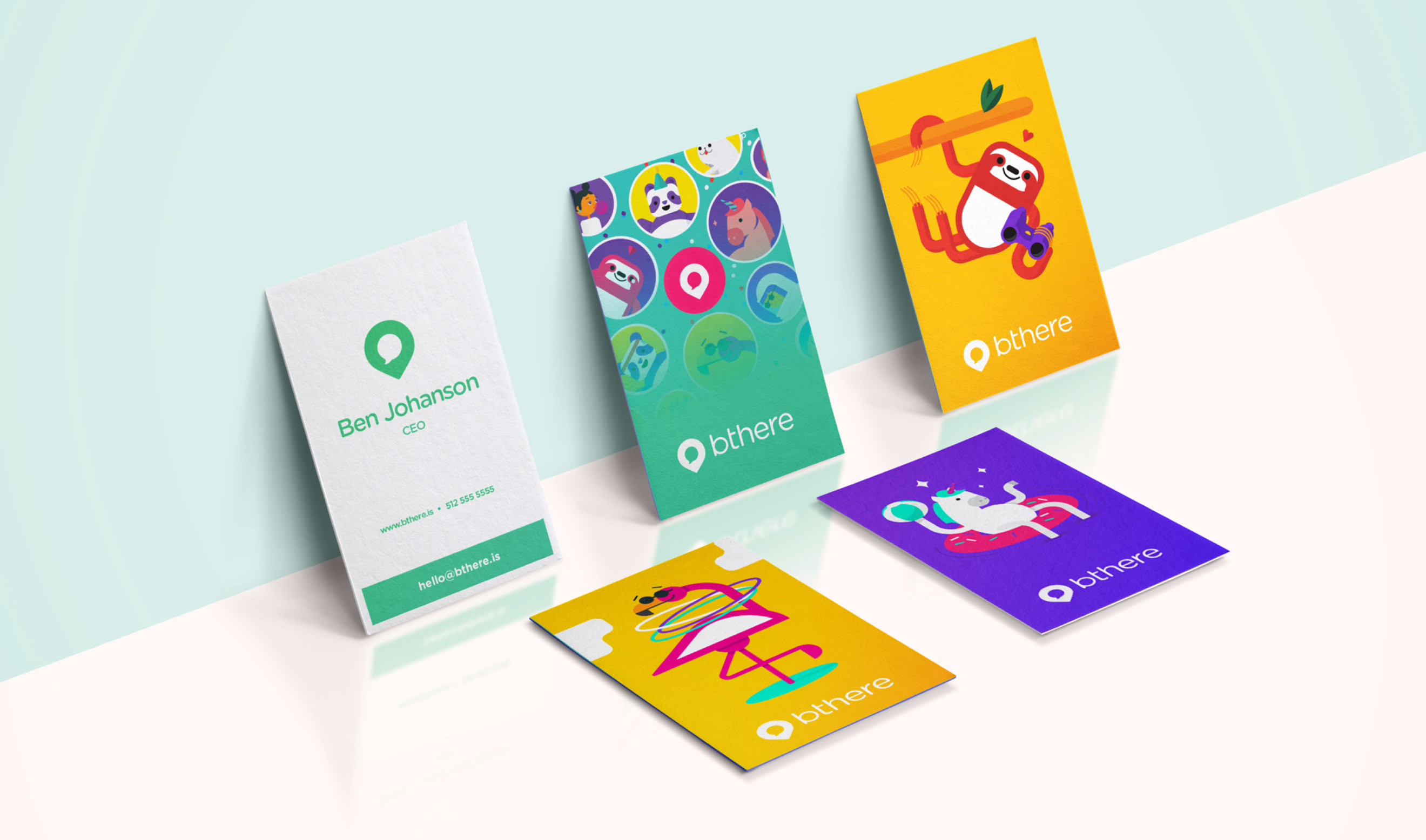 bthere Business Cards