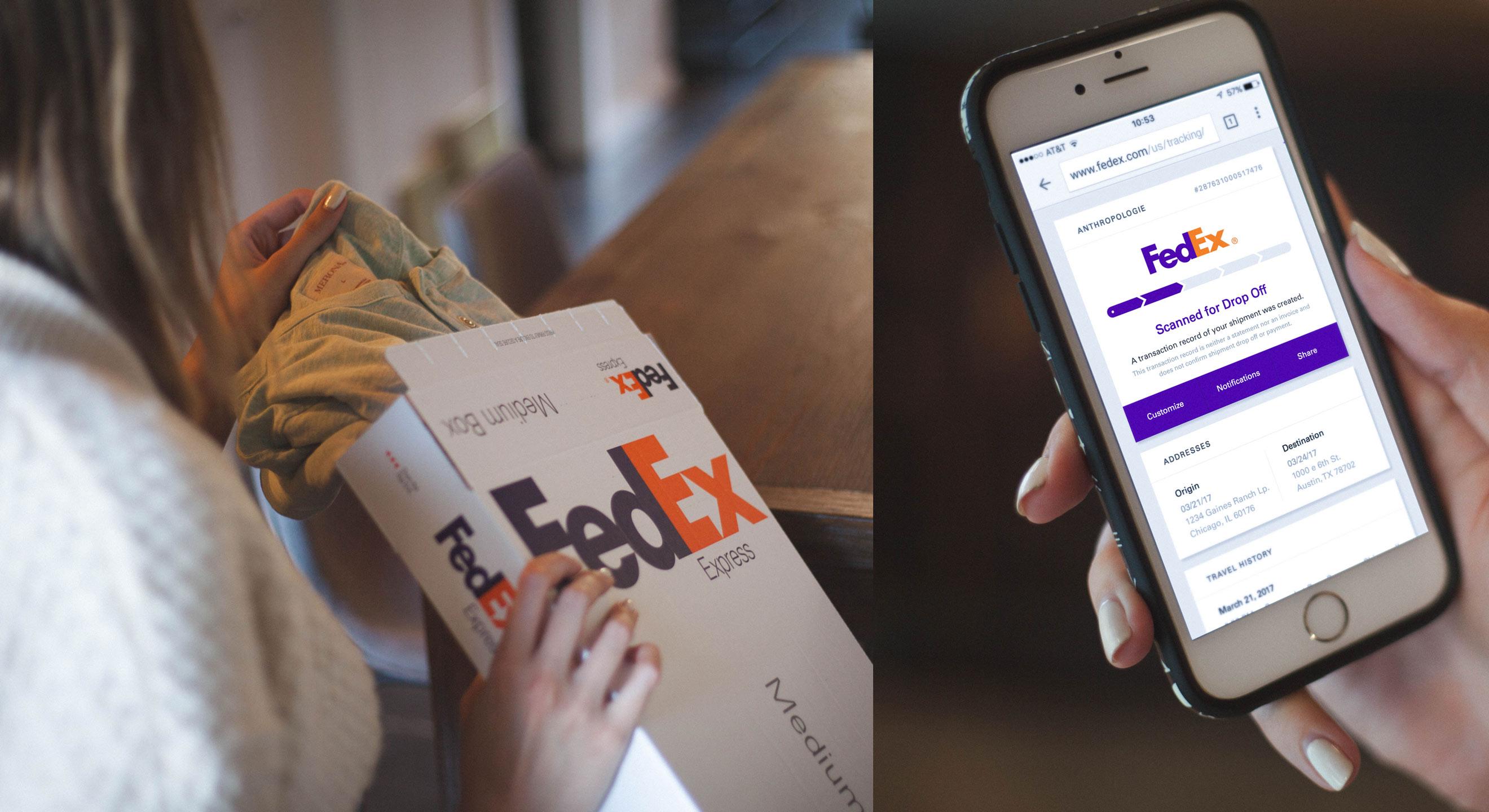 FedEx Shipment Tracker