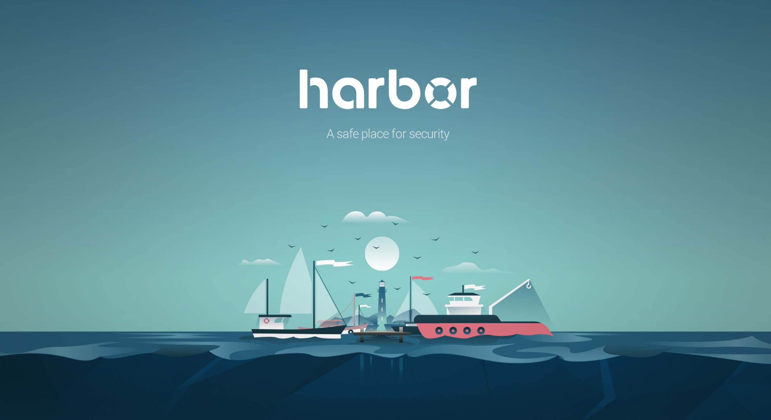 Harbor Illustration