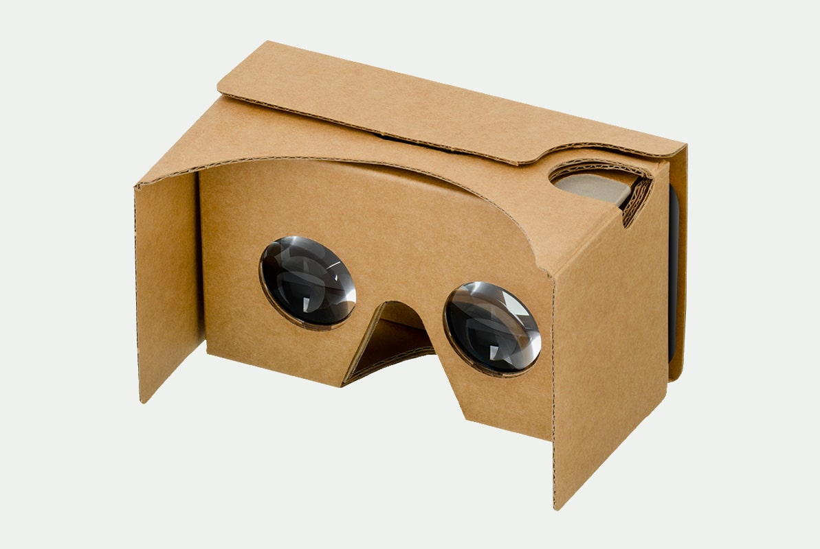 Virtual Reality headset Google Cardboard