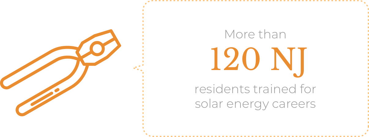 More than 120 NJ residents trained for solar energy careers