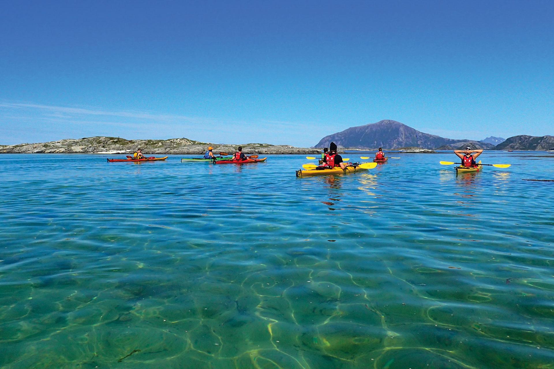 Hav & Fritid, coastal kayaking