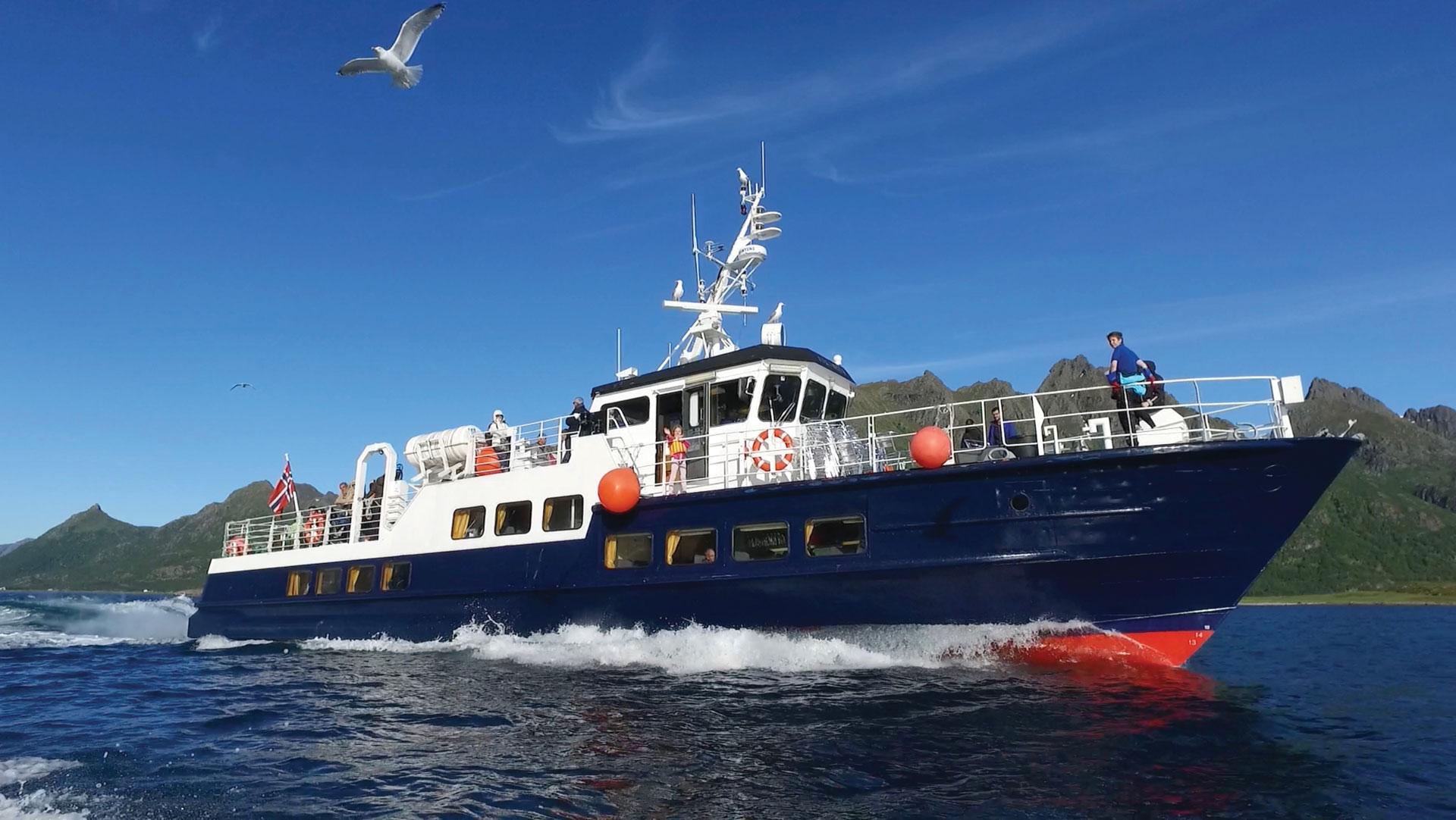 Lofoten Sea Service – MS Øykongen