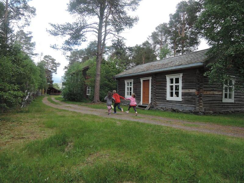 Tynset Village Museum – the museum park