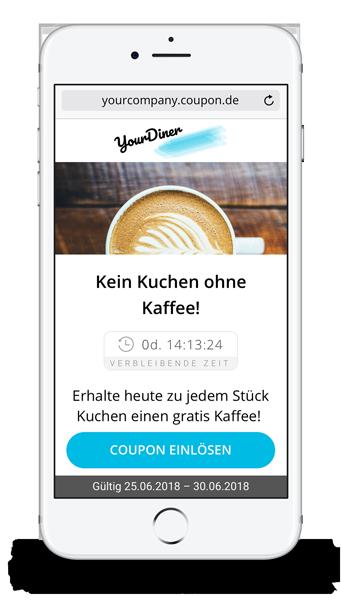Rabattcoupons per SMS aufs Handy
