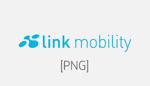 LINK Mobility Logo PNG für den Einsatz im Web oder andere digitale Medien
